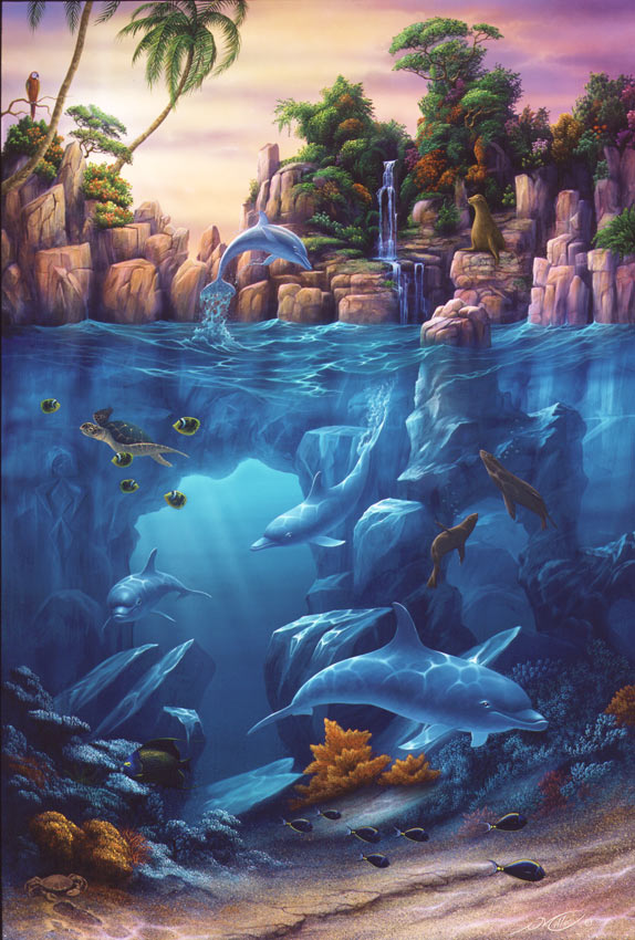 How To Paint Sea In Oils