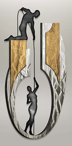 Contemporary  Metal Sculpture