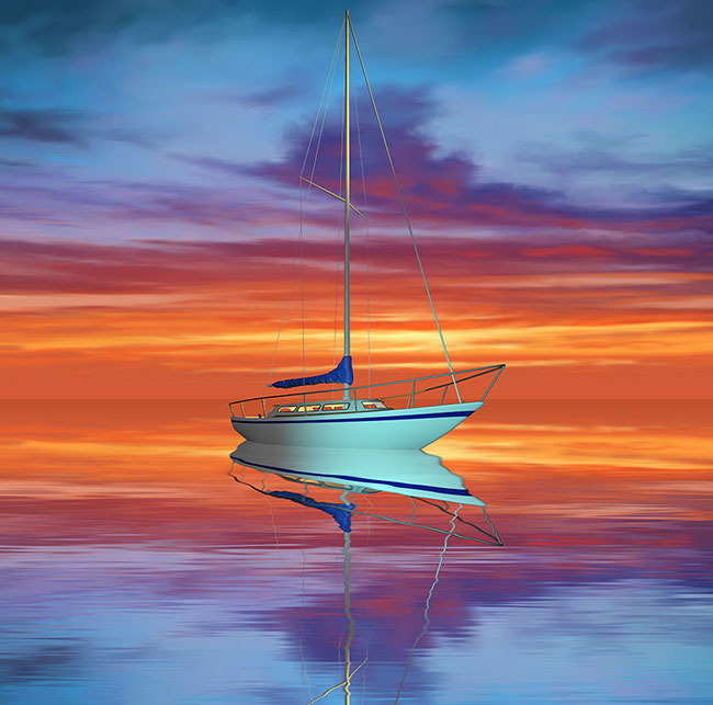 Boat Painting Imagine