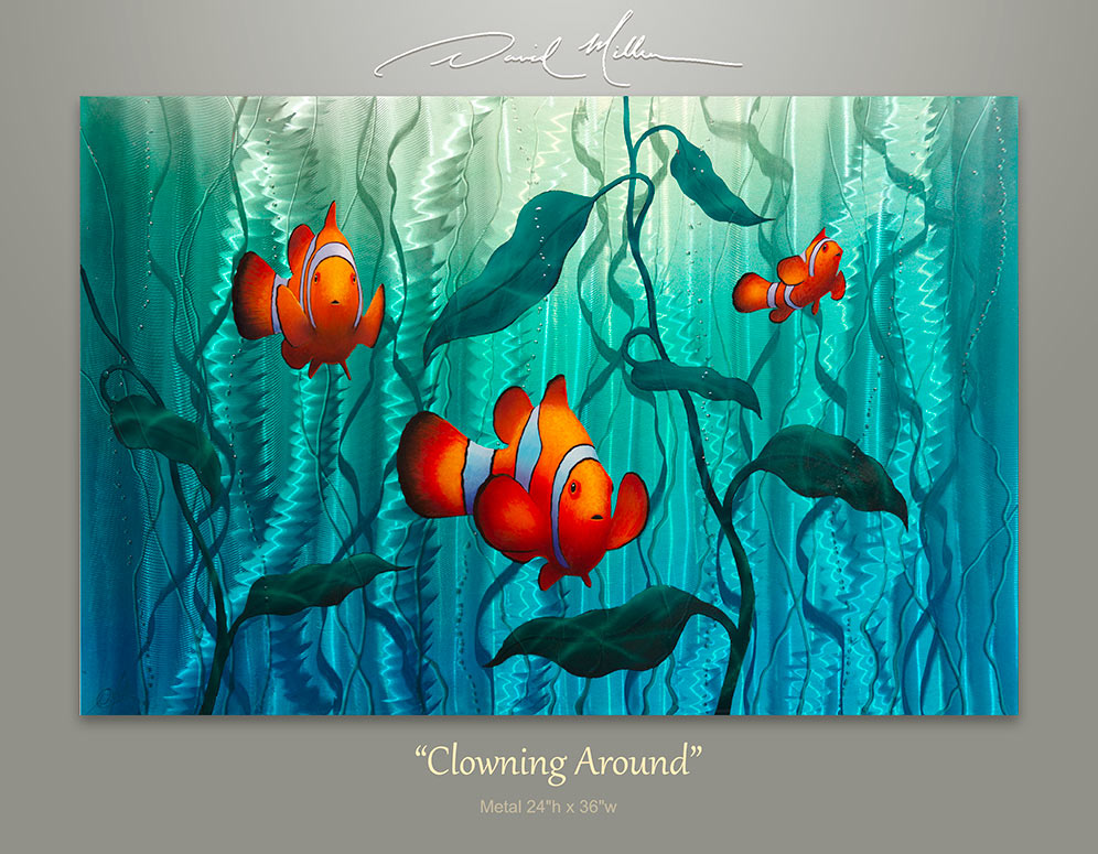 Clown Fish Painting