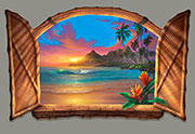 Beyond Paradise a Beach Painting