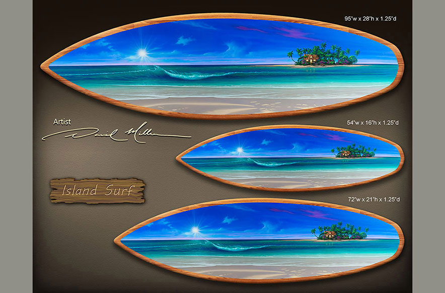 Surfboard Painting