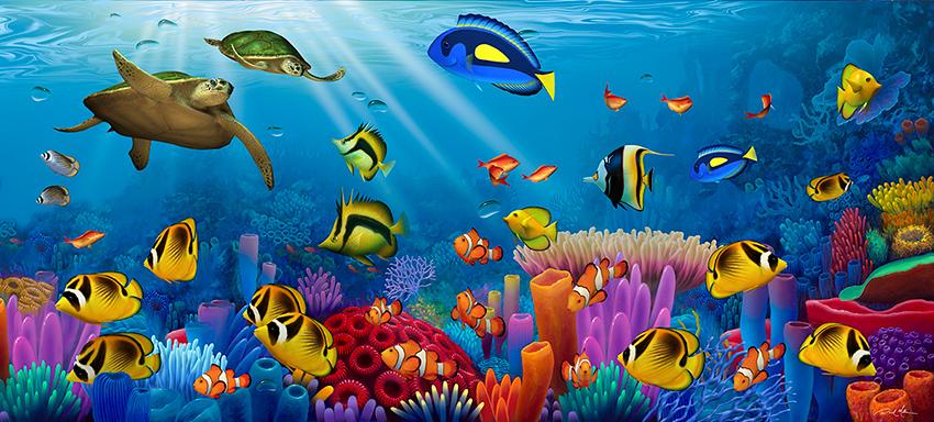 Ocean Scene Oil Paintings